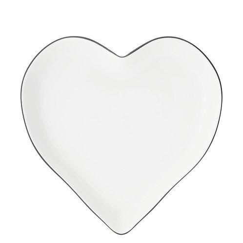 Vassoio cuore irregolare