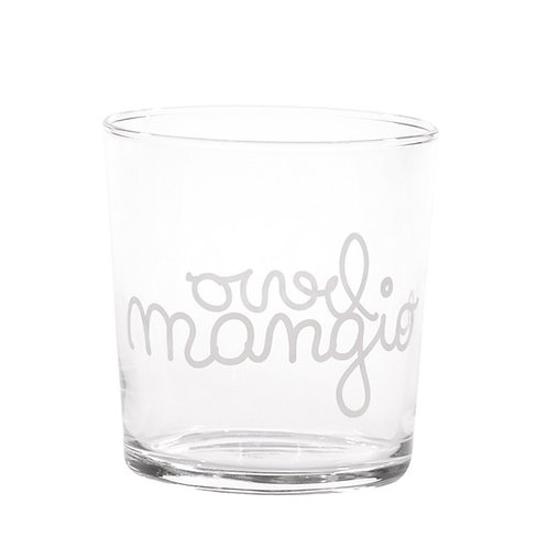 Bicchieri MANGIO E BEVO 6pz.