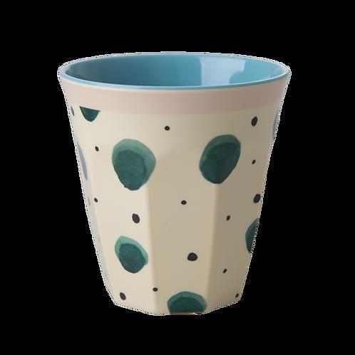 Bicchiere melamina Watercolor Splash