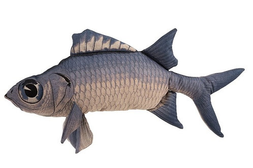 Cuscino Pesce Jeff blu