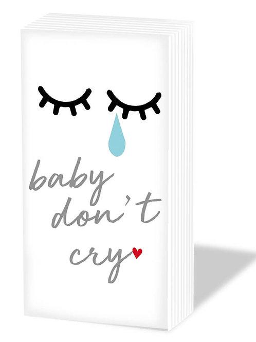 Fazzoletti carta BABY DON'T CRY