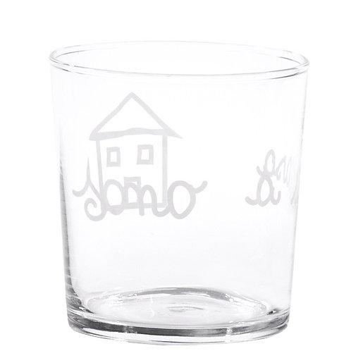 Bicchieri SONO A CASA 6pz.