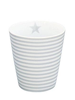 Mug Stripes Grey