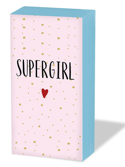 Fazzoletti carta SUPER GIRL
