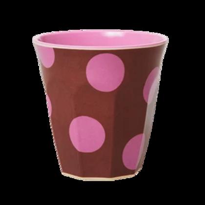 Bicchiere melamina Soft Pink Dots