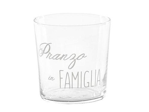 Bicchieri PRANZO IN FAMIGLIA 6pz.