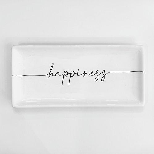 "Vassoio ""HAPPINESS"""