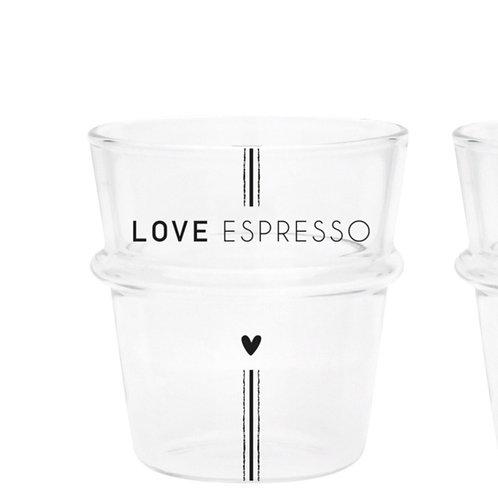 Tazzina caffè LOVE ESPRESSO