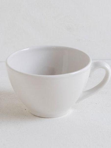 Tazza latte in ceramica ecru