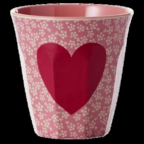 Bicchiere melamina Heart