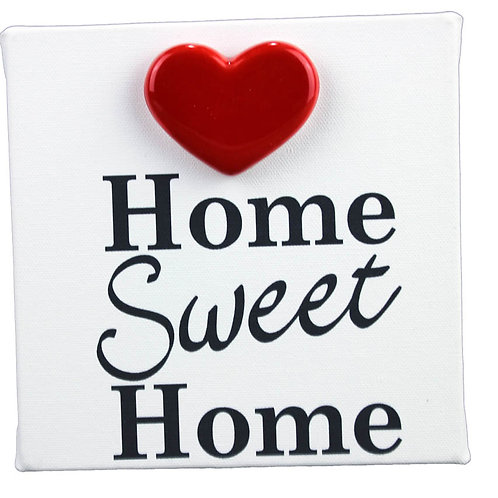 "Tela ""HOME SWEET HOME"""
