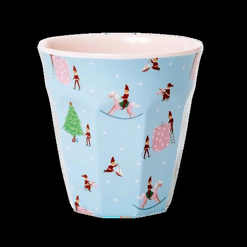 Bicchiere melamina Xmas Elf
