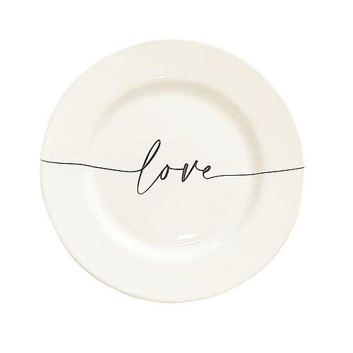 """Piatto dolce """"LOVE"""""""