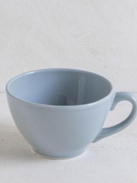 Copia di Tazza latte in ceramica grigia