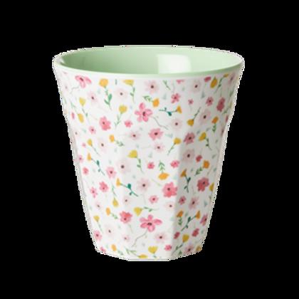 Bicchiere melamina FLOWERS