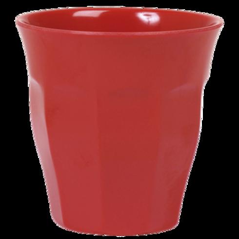Bicchiere melamina red