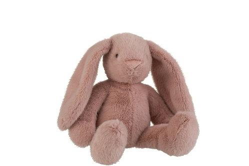 Coniglio rosa cipria