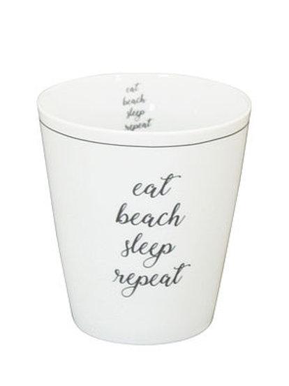 Mug Eat beach sleep repeat