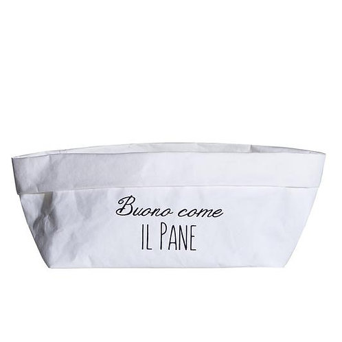 Cestino BUONO COME IL PANE bianco