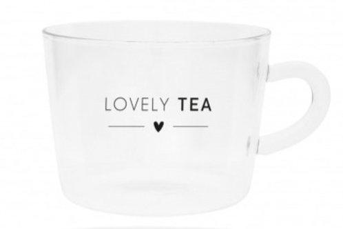 Tazza vetro LOVELY TEA