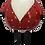 Thumbnail: Babbo Natale ceramica cicciotto basso
