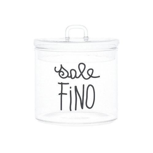 Barattolo SALE FINO new nero