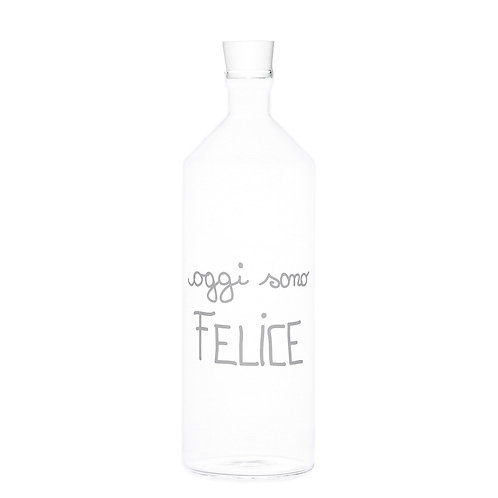 "Bottiglia ""Oggi sono felice"""