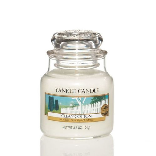YANKEE CANDLE Giara Piccola CLEAN COTTON