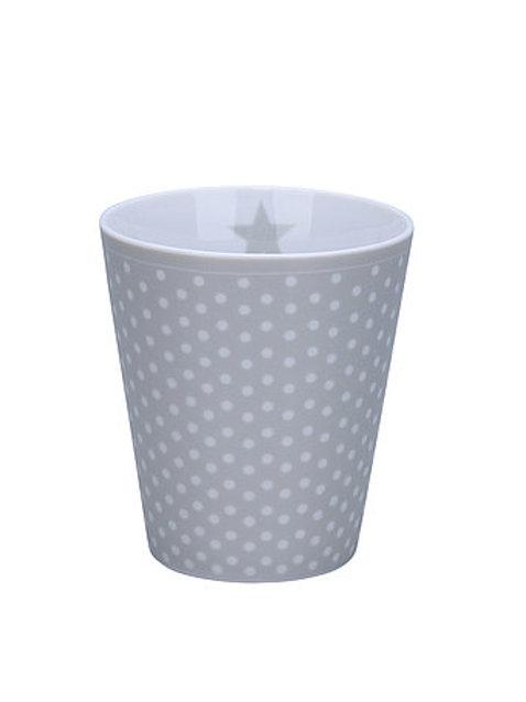 Mug Pois Grey