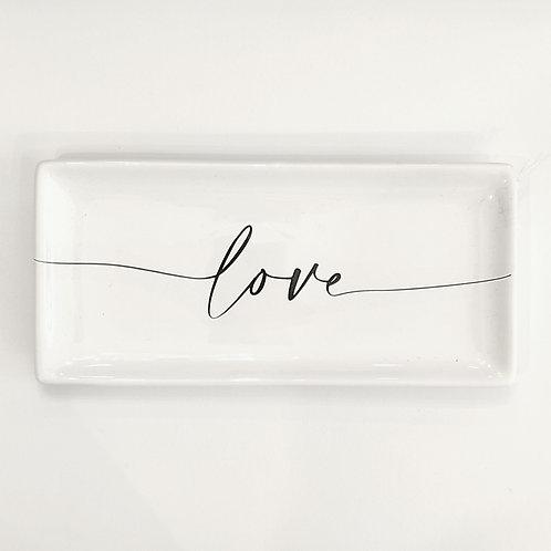 """Vassoio """"LOVE"""""""