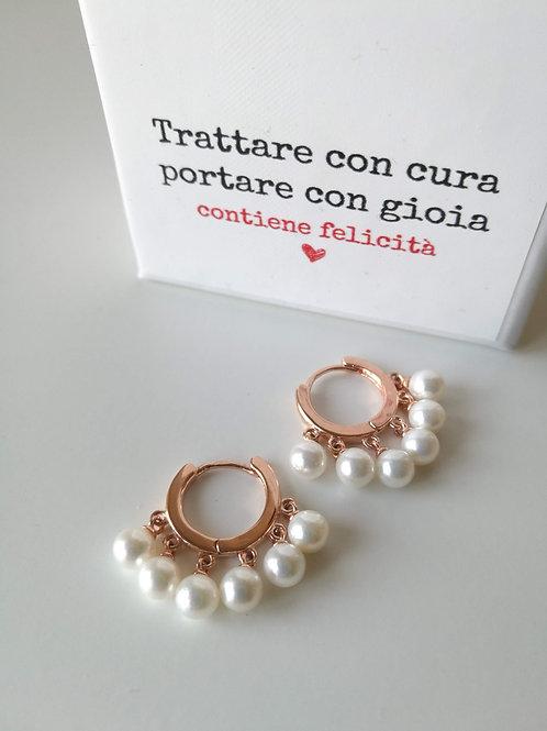 Cerchietti con perle