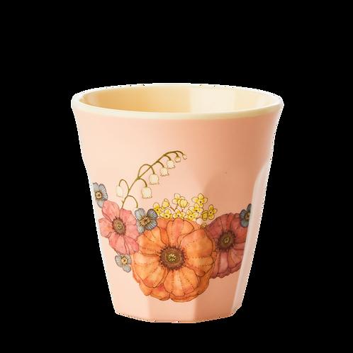Bicchiere bimbo melamina Flowers