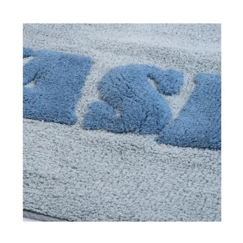 Tappeto WASH 50x80cm lime/avio