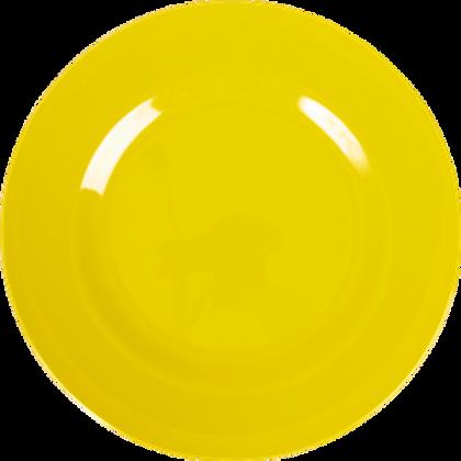 Piatto piano giallo
