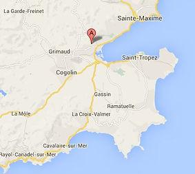 chambre avc spa, Port-Grimaud
