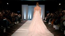 Pink Butterfly Wedding Dress