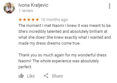 Google Review from Ivona Kraljevic