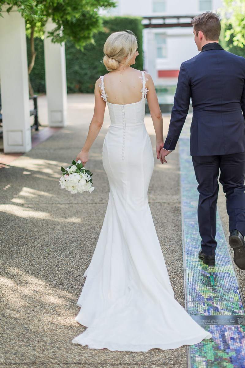 Lace Straps Mermaid Wedding Dress