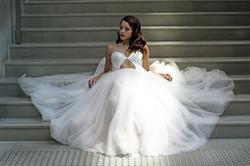 Modern Tulle Ballgown Wedding Dress
