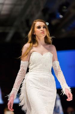Beading lace wedding dress gloves