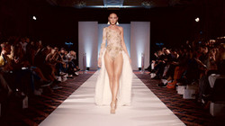 Lace Fur Wedding Dress