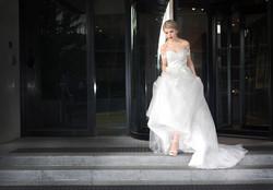 Off Shoulder Lace Wedding Dress