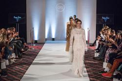 Naomi Peris at Milan Fashion Week