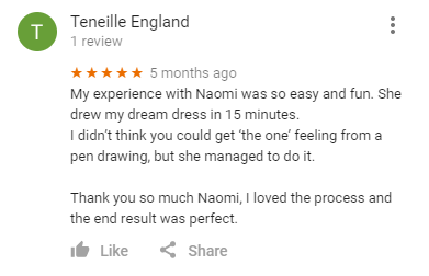 Google Review from Teneille England