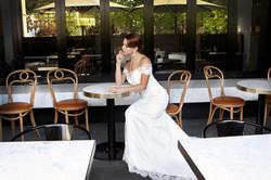 Beaded Lace Wedding Dress