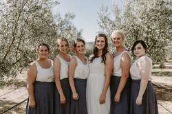 Lace wedding dress chiffon skirt