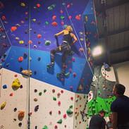 I won't be winning any climbing competit