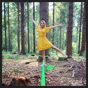 My attempt at Pilates on a slack line 😜