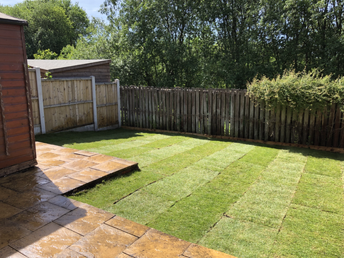 Turfing Colne