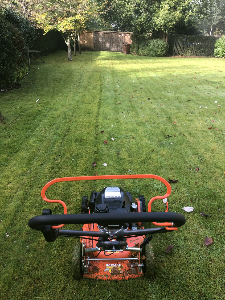New Mower From Balmers GM
